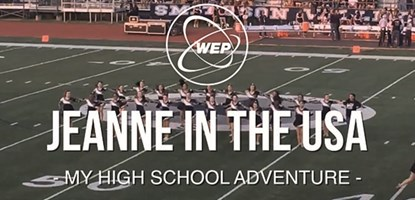 Jeanne aux USA - My High School Adventure FR